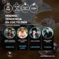 Madrid, tendencia en coctelería. Cocktail session